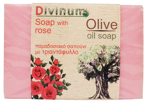 Olive Oil Soap with Rose 100g