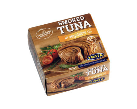 Smoked Tuna in Vegetable Oil 160g Trata