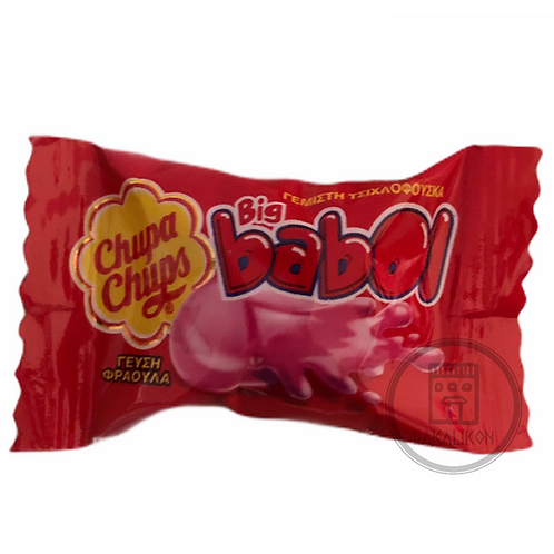 Filled Chewing Gum Strawberry Flavour Big Babol