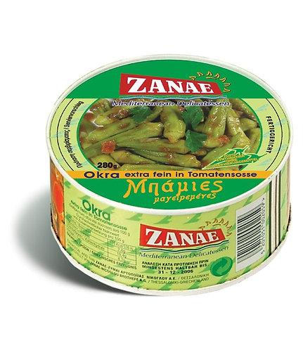 Okra in Tomato Sauce 280g Zanae