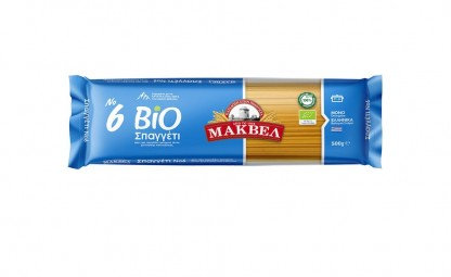 No 6 Spaghetti Bio 500g Makbel