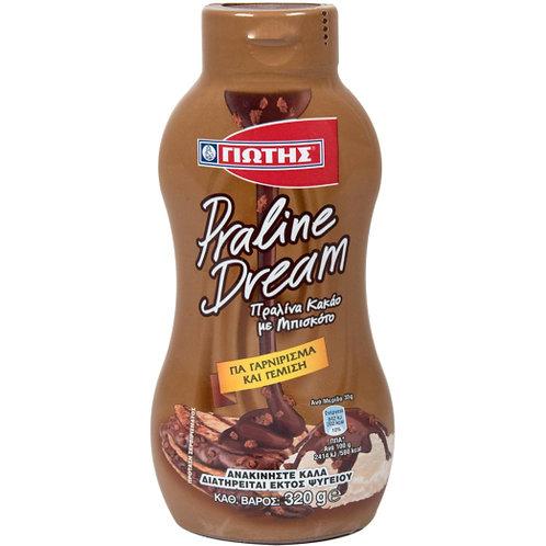 Praline Dream Syrup 350g Jotis