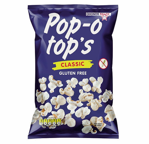 Popcorn with Salt 85g Pop-o-top's