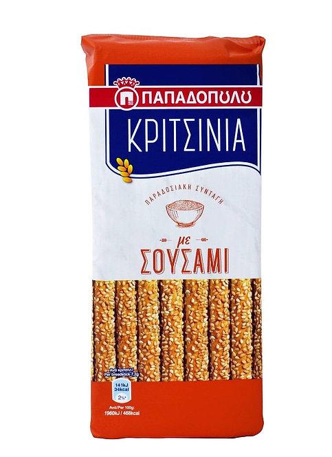 Breadsticks with Sesame 130g Papadopoulou
