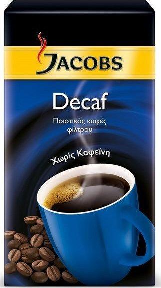 Decaffeine Filter Coffee 250g Jacobs