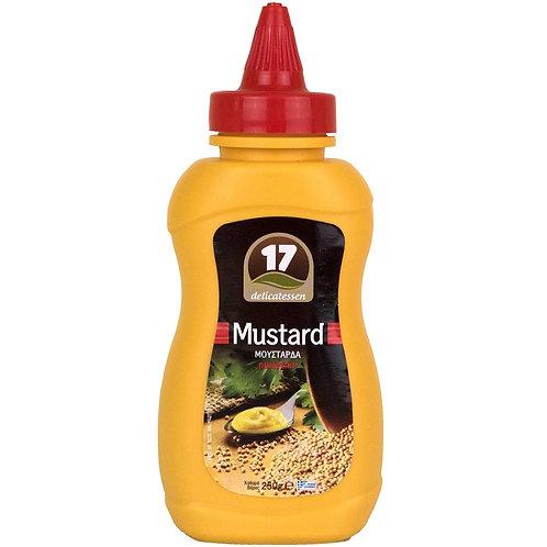 Mustard Spicy 250g 17 Delicatessen