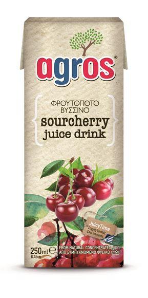 Sour Cherry Juice 250ml Agros
