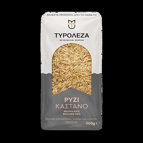 Brown Rice 500g Tyroleza