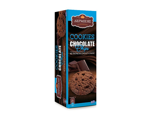 Cookies With Cocoa and Chocolate Chips 175g Dermisis