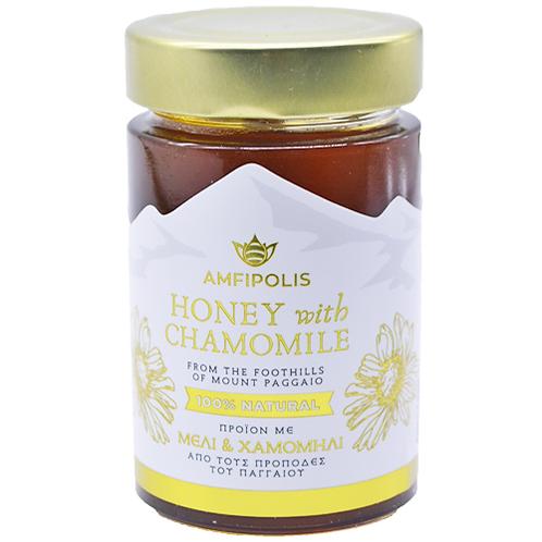 Honey with Chamomile 250g Amfipolis