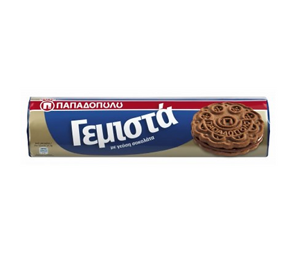 Papadopoulou Sandwich Biscuits with Chocolate 200g