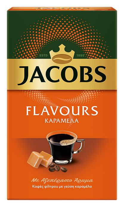 Filter Coffee with Caramel Flavour  250g Jacobs
