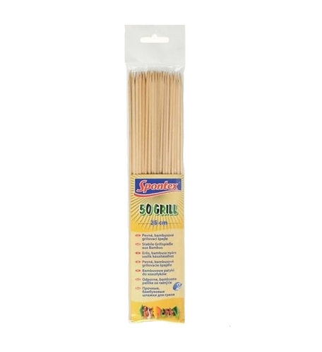 BBQ Skewers 50 pieces Spontex