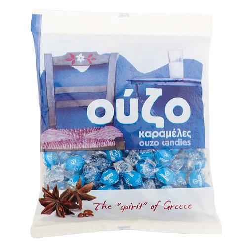 Ouzo Flavoured Candies 400g Tulip