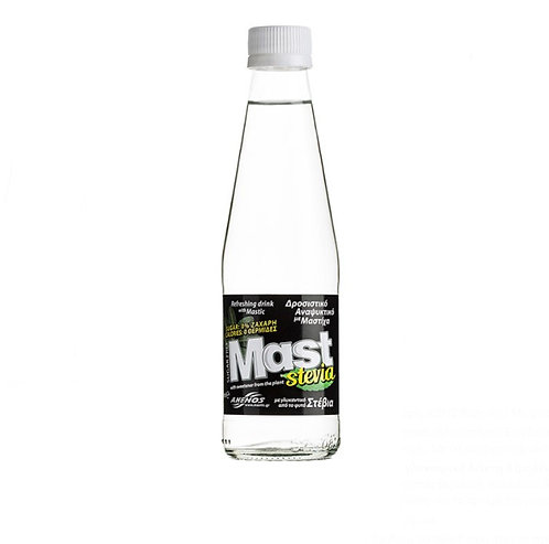 Carbonated Soft Drink with Natural Mastic with Stevia 250ml Mast