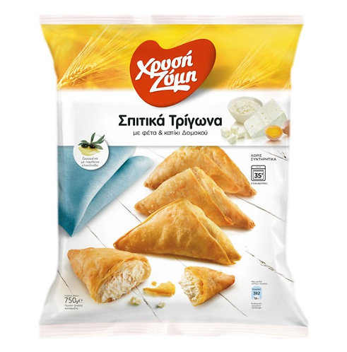 Homemade Mini Bites with Feta Cheese and Domokos Katiki Cheese 750g Chryssi Zimi