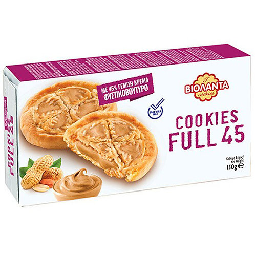 Cookies Filled with Peanut Butter 150g Violanta