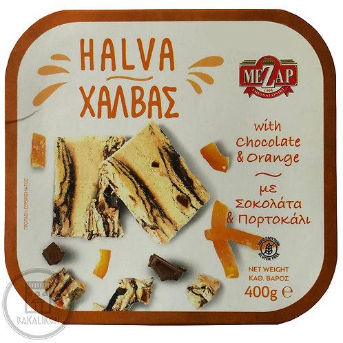 Halva with Chocolate and Orange 400g Mezap