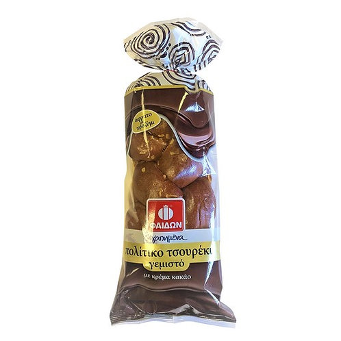 Tsoureki with Cocoa Filling 400g Fedon