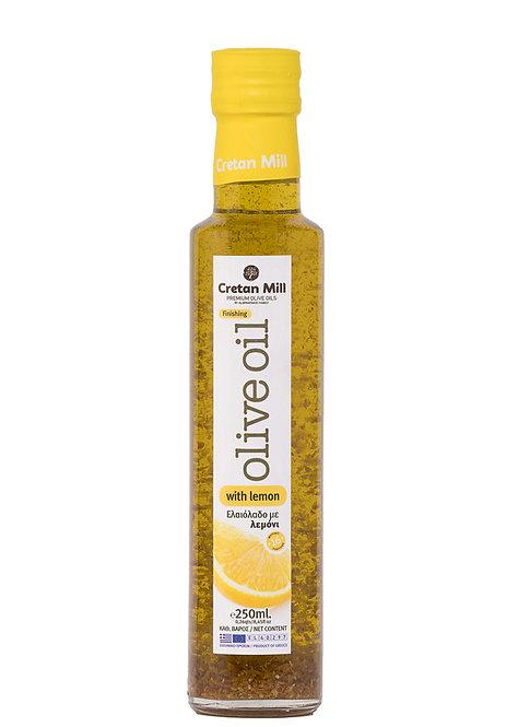 Olive Oil with Lemon 250ml Cretan Mill