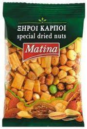 Cocktail Mix Nuts 130g Matina
