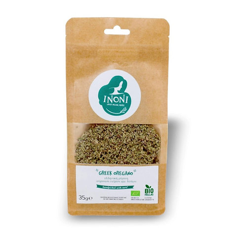 Greek Organic Oregano 35g Inoni