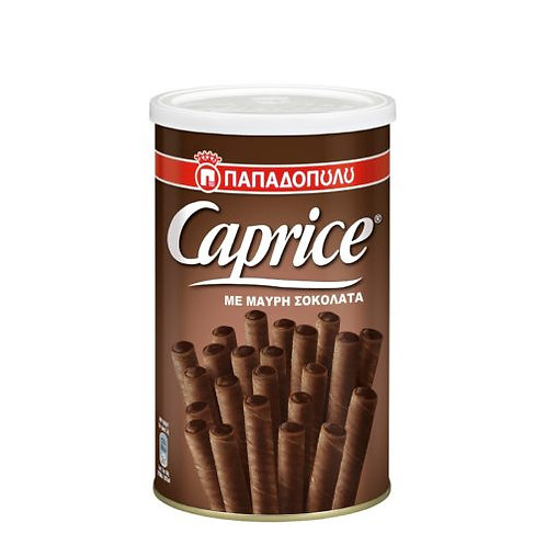 Papadopoulou Caprice – Wafer Rolls Filled with Dark Chocolate 250g