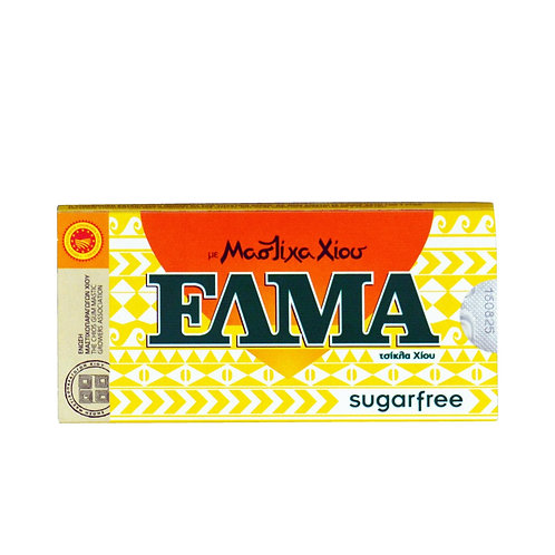 Chewing Gum Sugar Free with Mastic Flavour 13g Elma