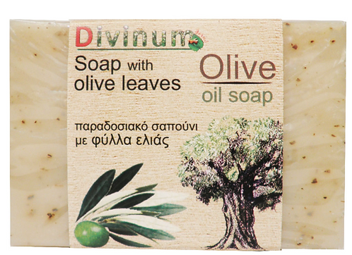 Olive Oil Soap with Olive Leaves 100g