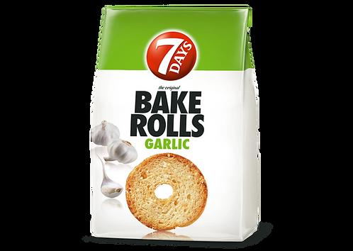Bake Rolls Garlic 80g 7Days