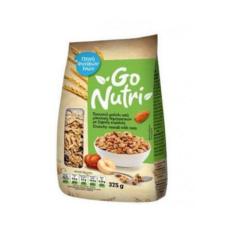 Crunchy Muesli with Nuts 375g Go Nutri