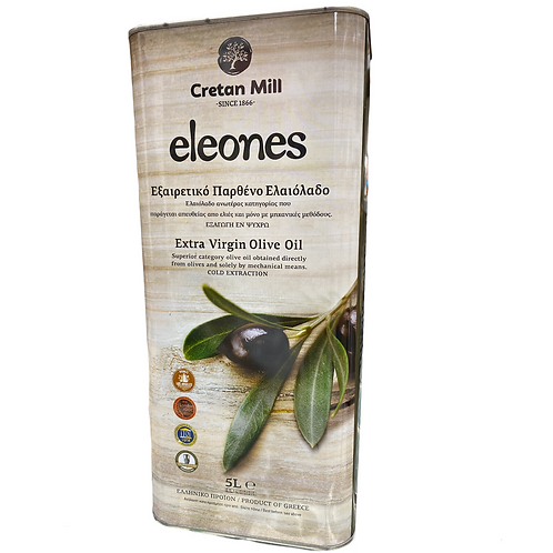 Extra Virgin Olive Oil 5lt Cretan Olive Groves
