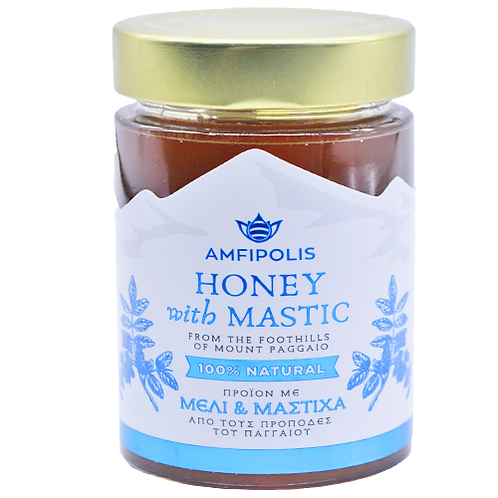 Honey with Mastic 250g Amfipolis