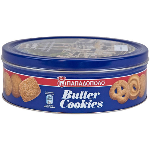 Butter Cookies 454g Papadopoulou