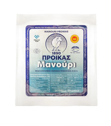 Manouri Cheese PDO 200g Proikas
