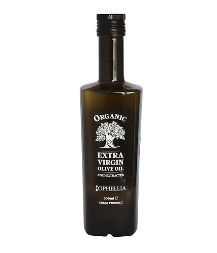 Organic Extra Virgin Olive Oil 500ml Ophellia