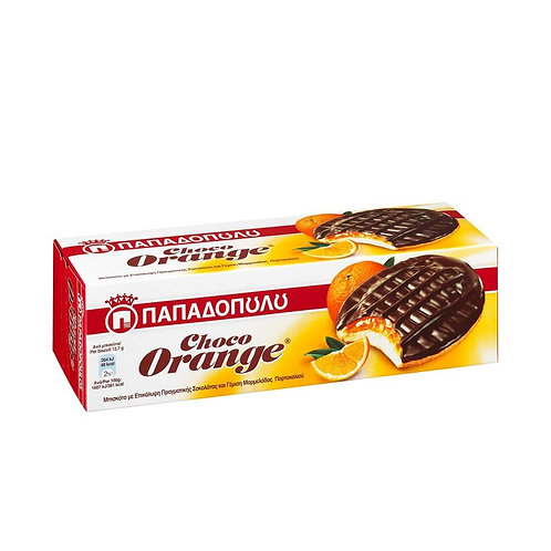 Choco Orange Soft Biscuits 150g Papadopoulou