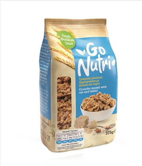 Crunchy Muesli with Oat and Tahini 375g Go Nutri