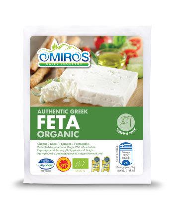 Organic Feta Cheese 200g Omiros
