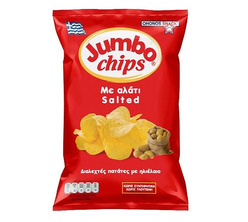 Crisps with Salt 130g Jumbo