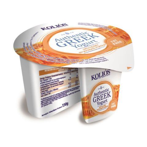 Greek Yogurt 0% with Honey 150g Kolios