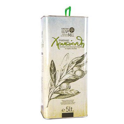 Chrisanthi Olive Oil 5 Lt Cold Pressed