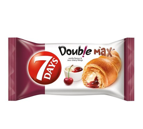 Double Max Croissant with Vanilla and Cherry 80g 7Days