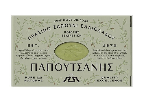 Traditional Olive Oil Soap 125g Papoutsanis