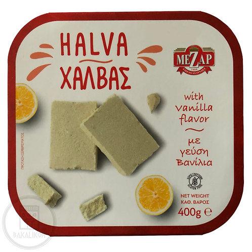 Halvas with Vanilla flavour 400g Mezap