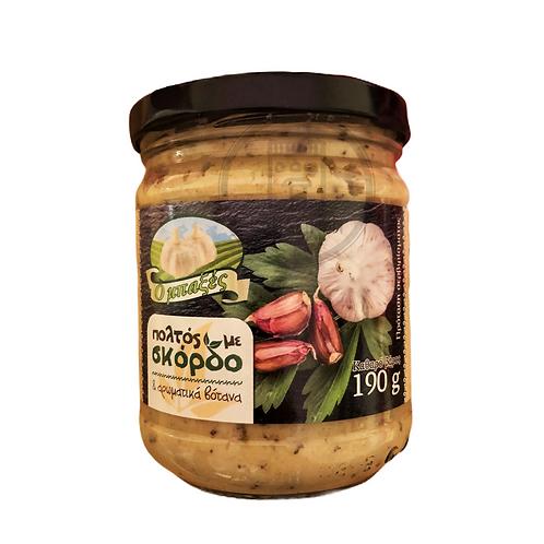 Garlic Puree 190g O Mpaxtses