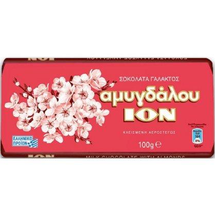 ION Amigdalou - Milk Chocolate with Almonds 100g
