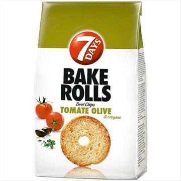 Tomato and Olives Bake Rolls 112g 7Days