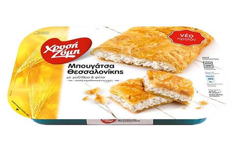 Bougatsa Pie with  Mitzithra Cheese and Feta Cheese  450g Xrisi Zimi