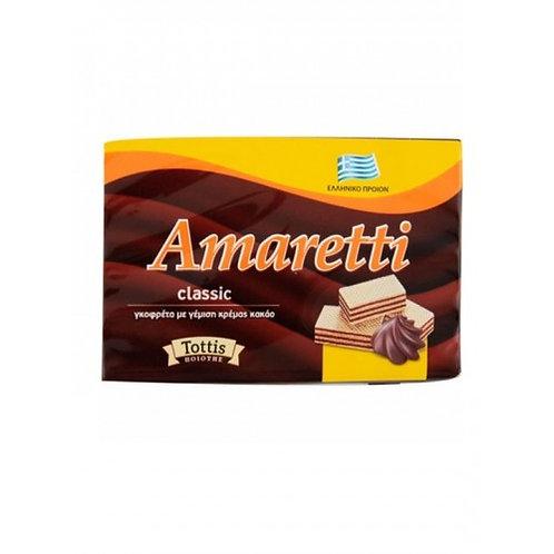 Wafer with Cocoa Cream Filling 45g Amaretti